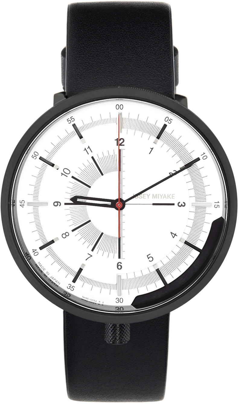 White 1/6 Model Watch