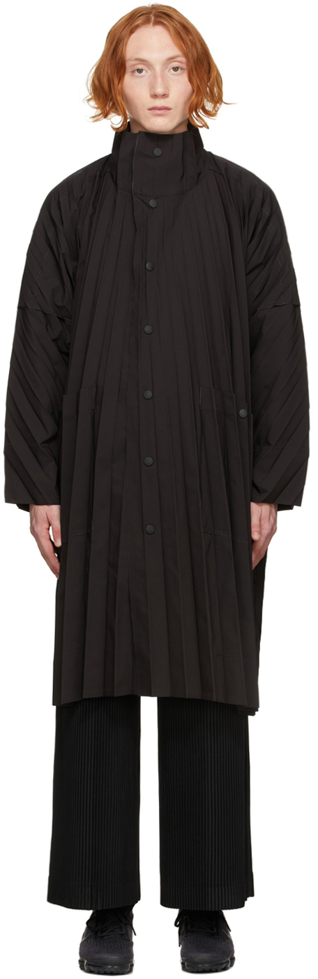 Black Edge Light Coat