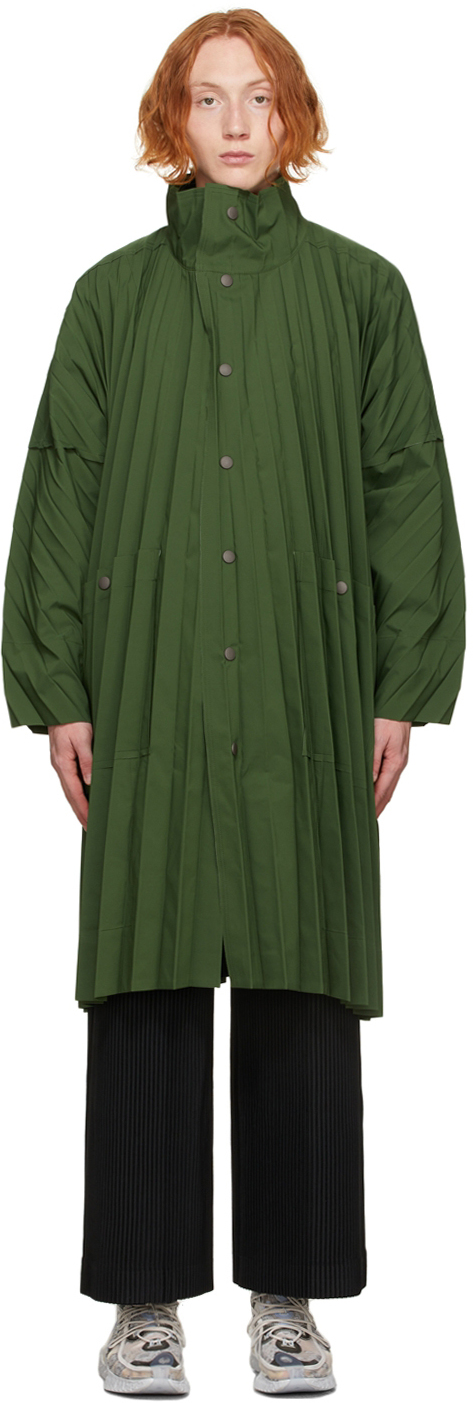 Green Edge Light Coat