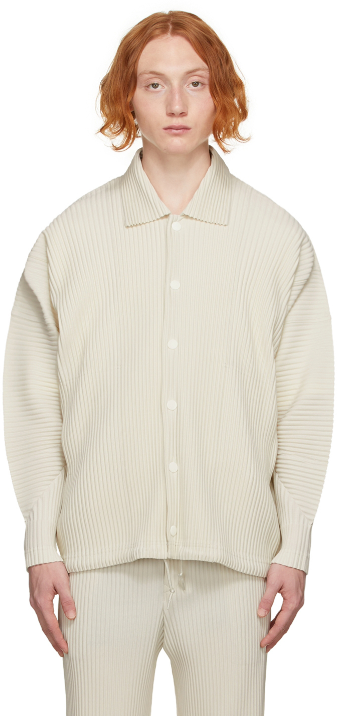 Beige Monthly Color August Jacket