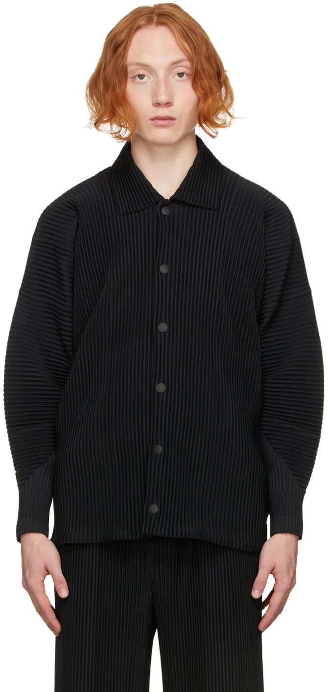 Black Monthly Color August Jacket