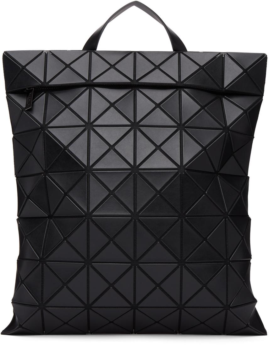 Black Matte Flat Pack Backpack