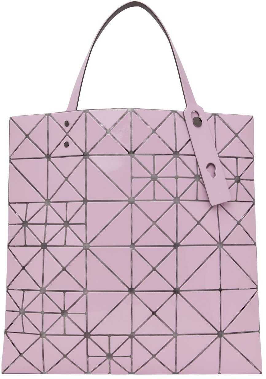 Pink Lucent Pixel Tote