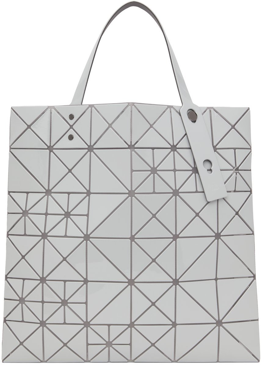 Grey Lucent Pixel Tote