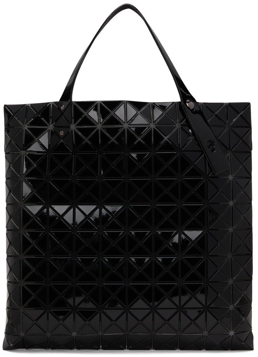 Black Large Prism Tote