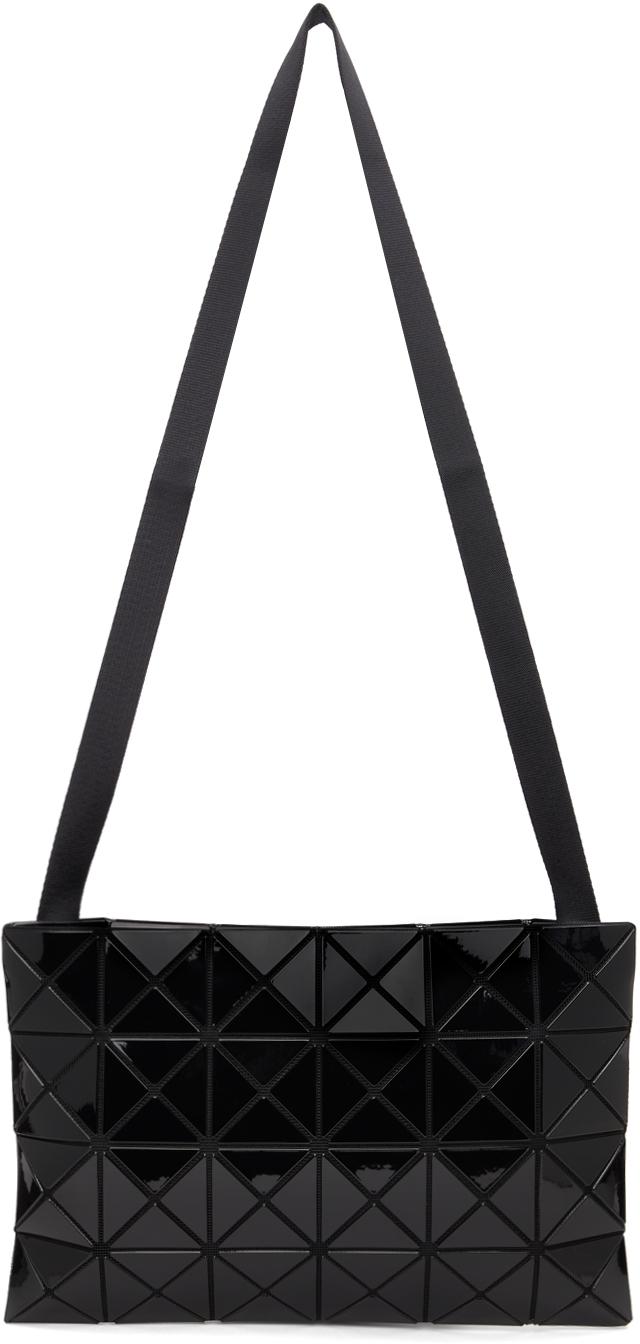 Black Lucent Crossbody Bag