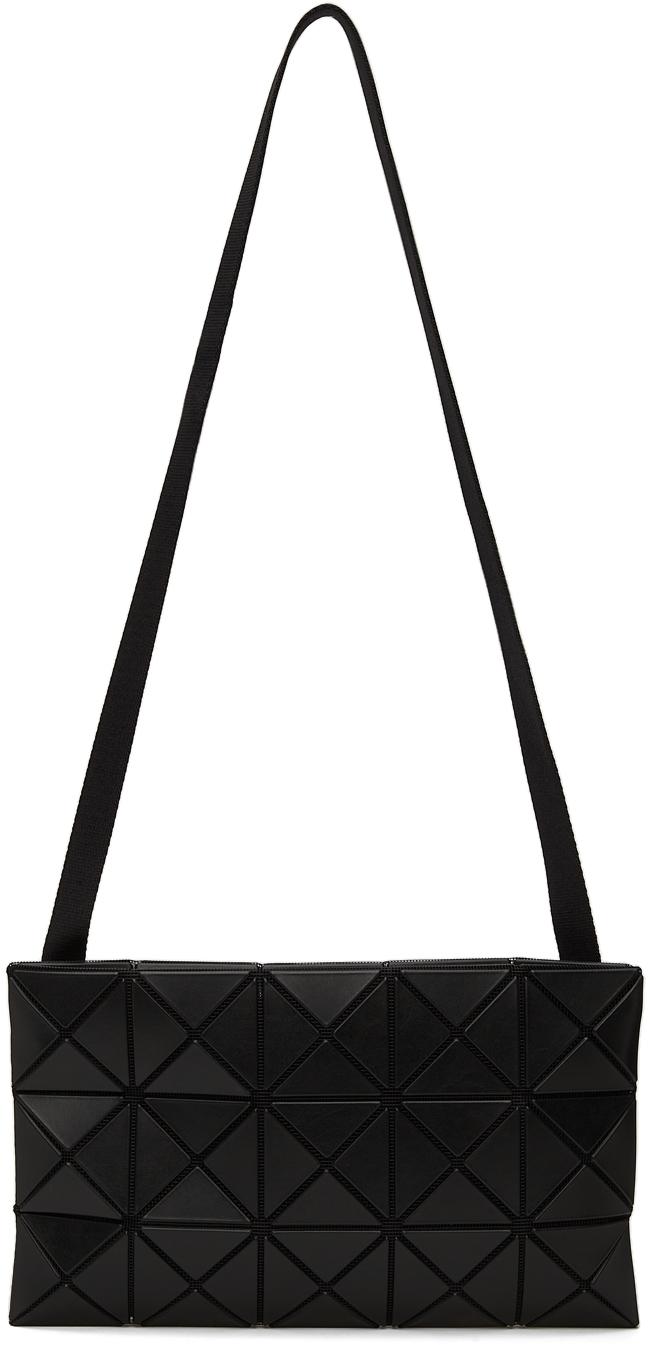 Black Matte Lucent Crossbody Bag