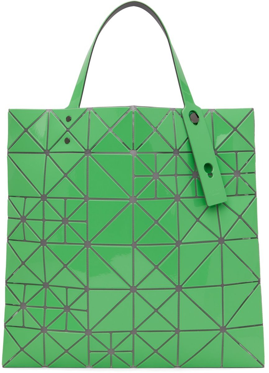 Green Lucent Pixel Tote