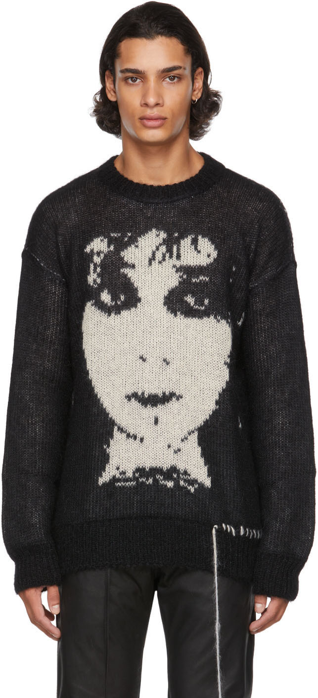 Black Lydia Lunch Sweater