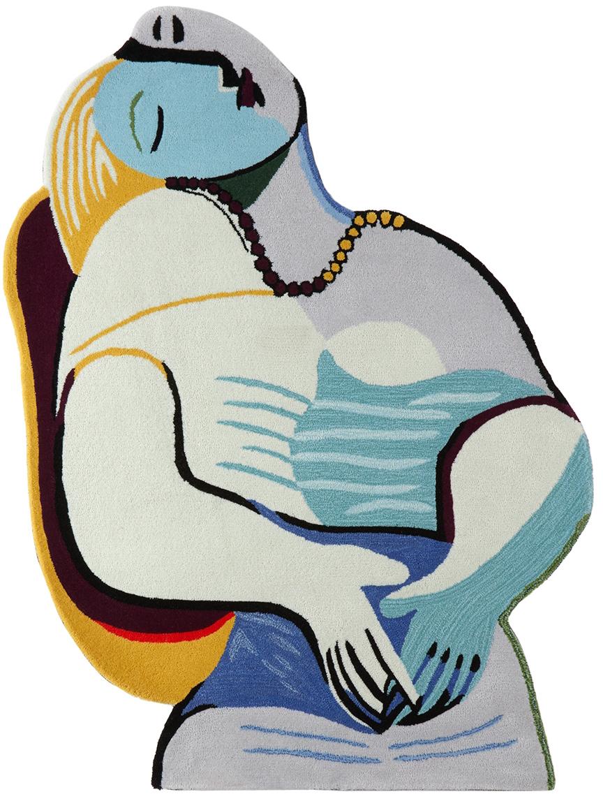 Multicolor 'The Dream' Fine Art Rug