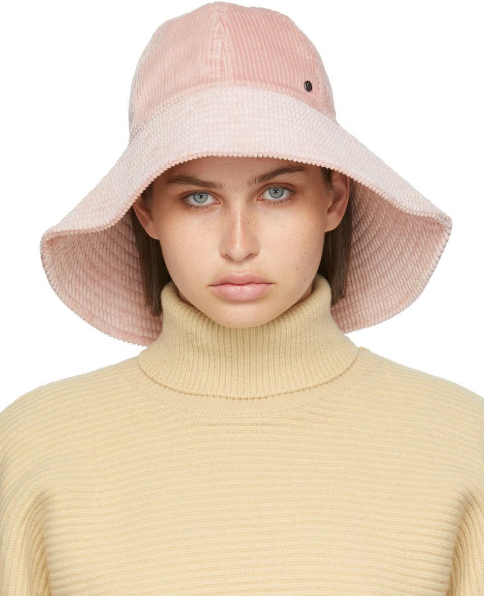 Pink Corduroy Julianne Bucket Hat