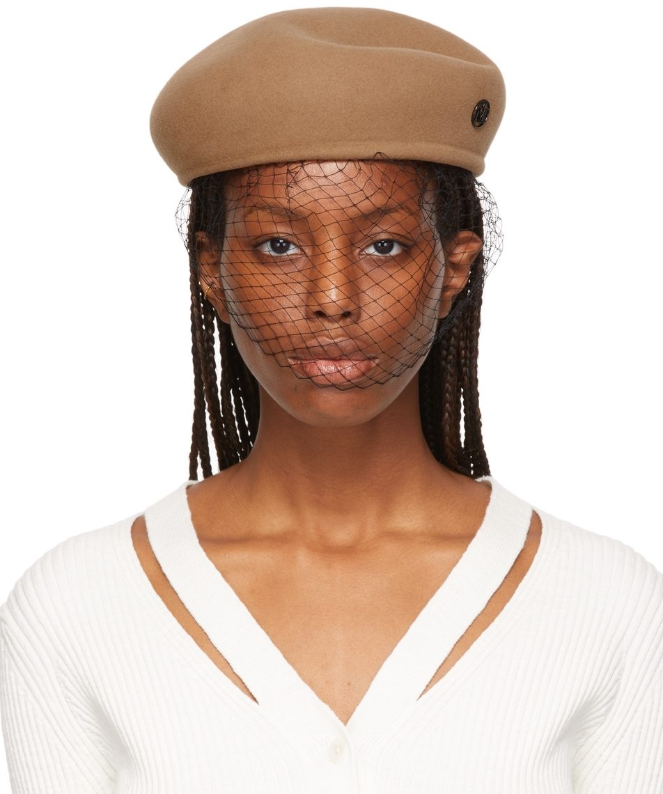 Tan Felted Wool Hat