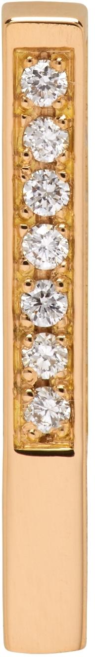 Gold W1 Single Earring