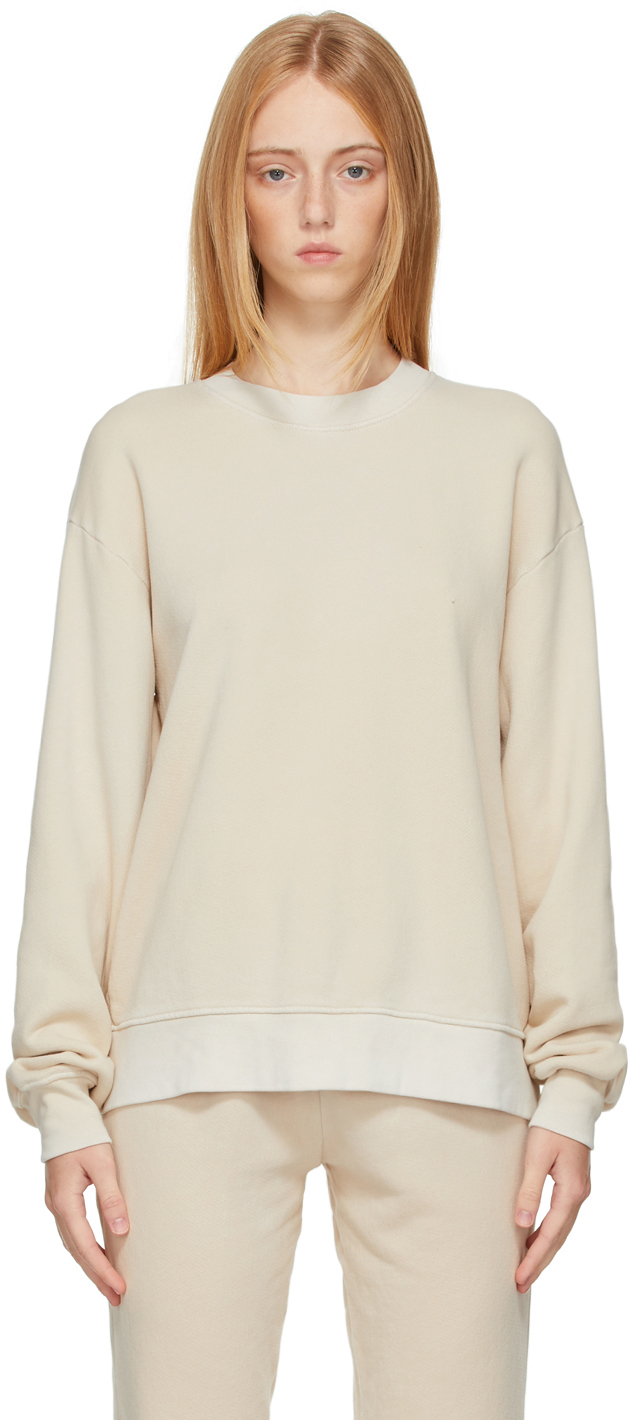 Beige Brooklyn Oversized Sweatshirt