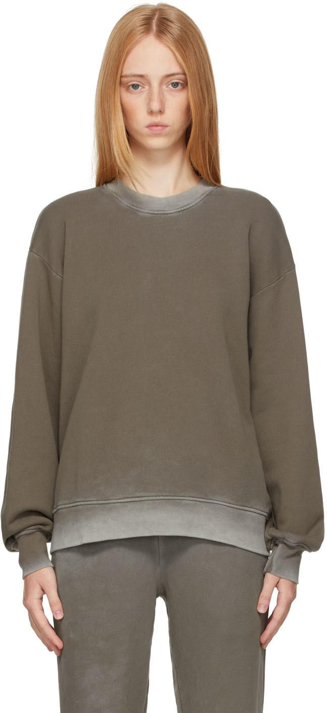 Taupe Brooklyn Oversized Sweatshirt