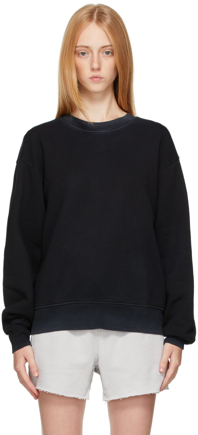 Black Brooklyn Oversized Sweatshirt