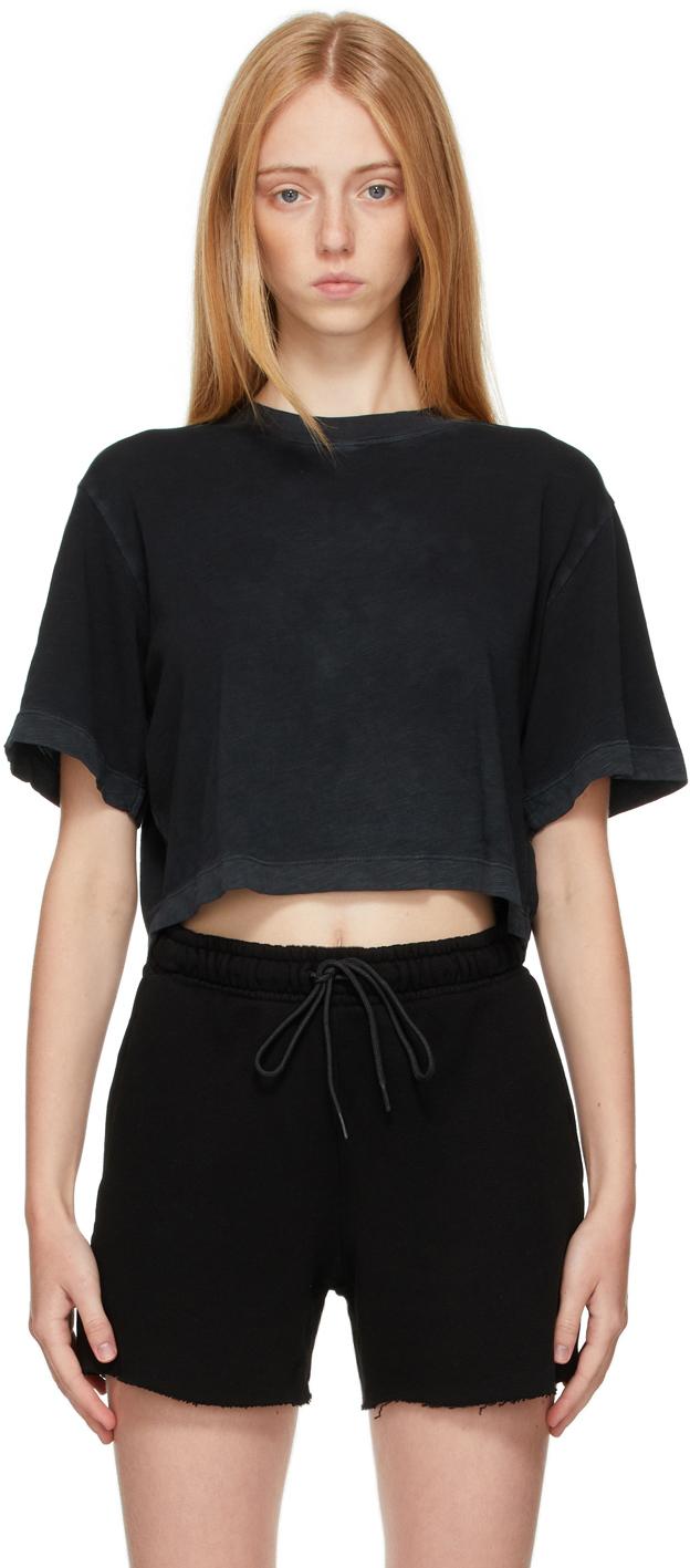 Black Tokyo Crop T-Shirt