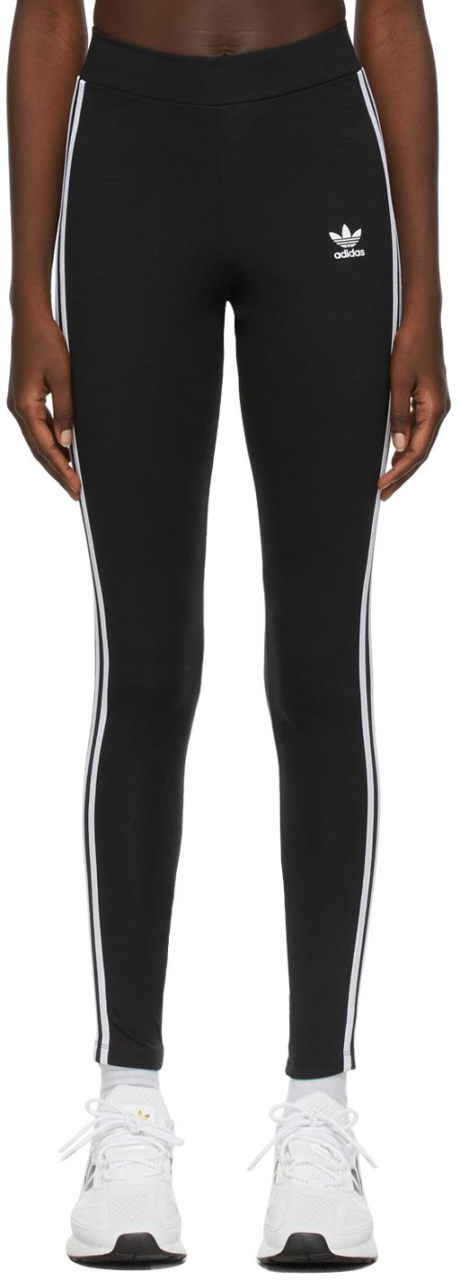 Black Adicolor Classics 3-Stripes Leggings