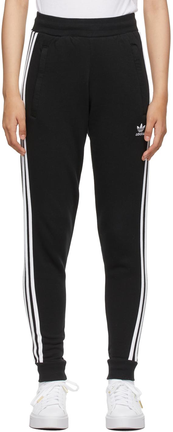 Black Adicolor Classics 3-Stripes Lounge Pants