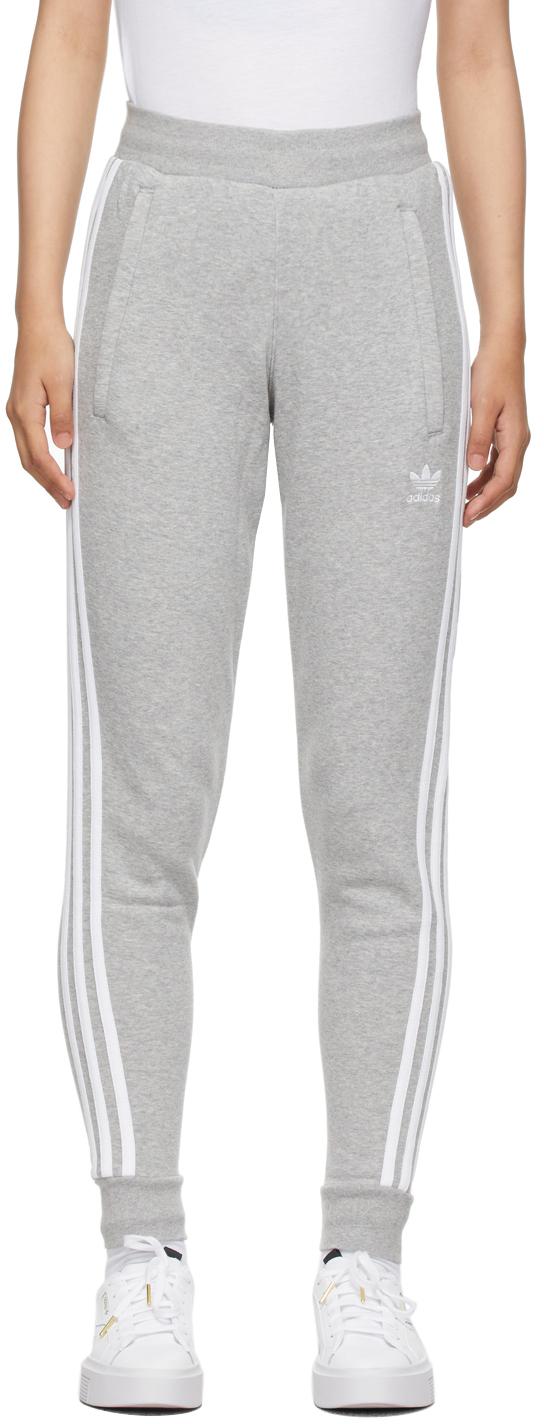 Grey Adicolor Classics 3-Stripes Lounge Pants
