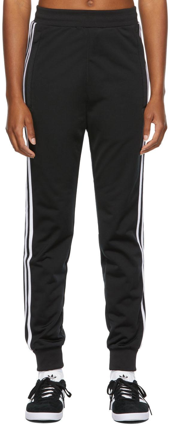 Black 3-Stripes Track Pants