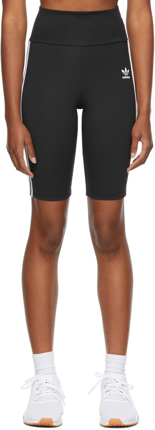 Black Primeblue Adicolor Classics High-Waisted Shorts