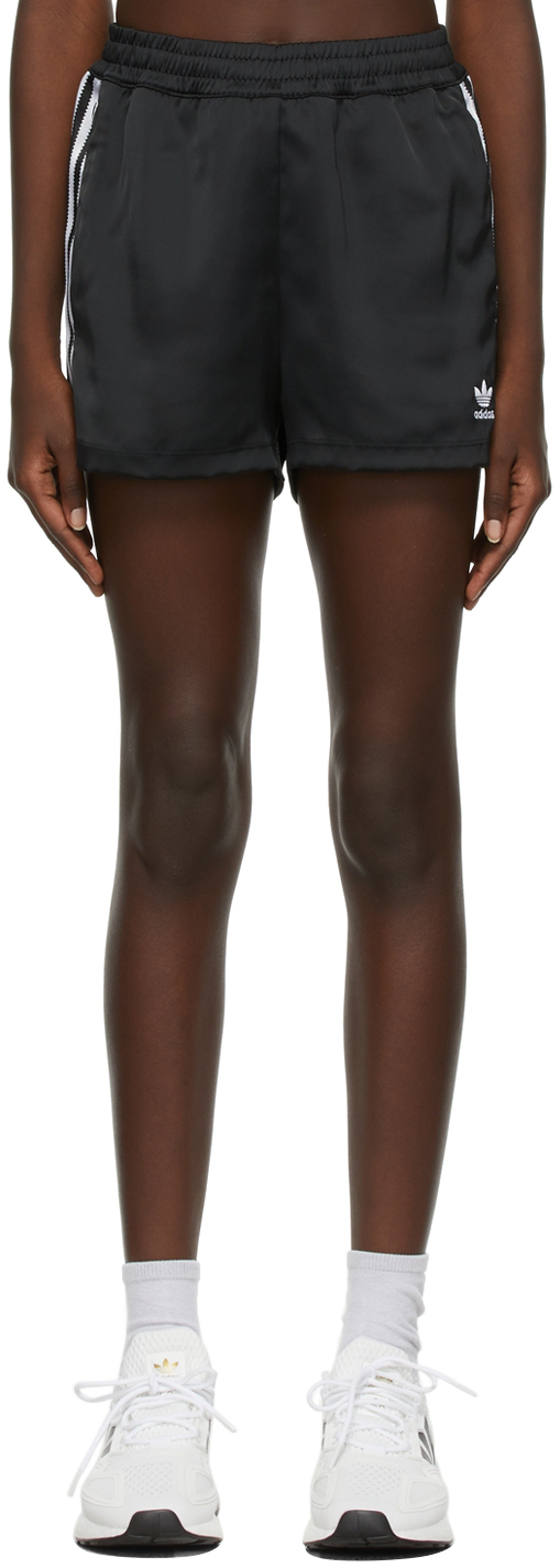 Black Satin Adicolor Classics Shorts