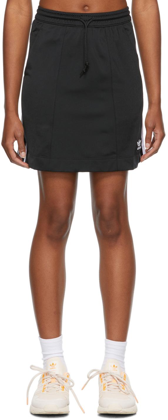Black Tricot Adicolor Classics Skirt