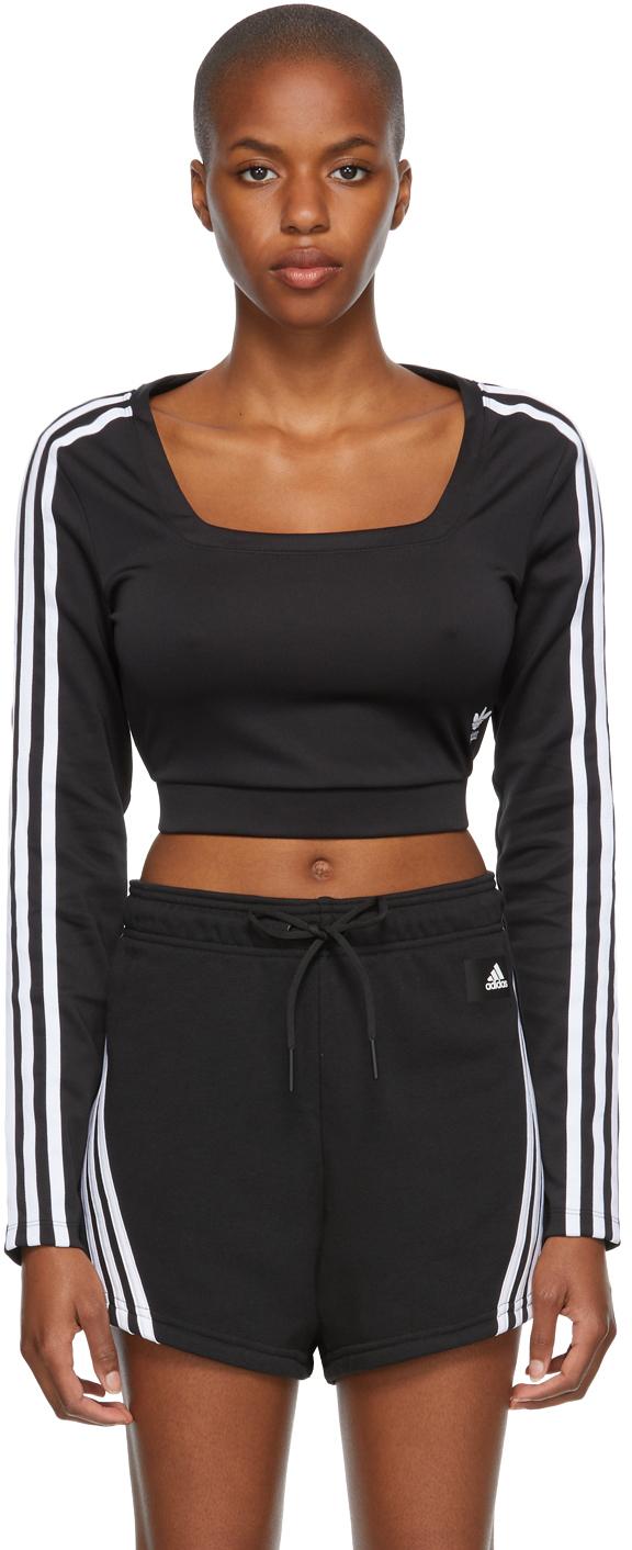Black Adicolor Classics Long Sleeve T-Shirt