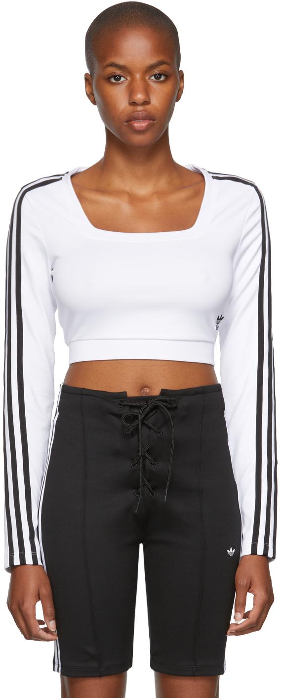 White Adicolor Classics Long Sleeve T-Shirt