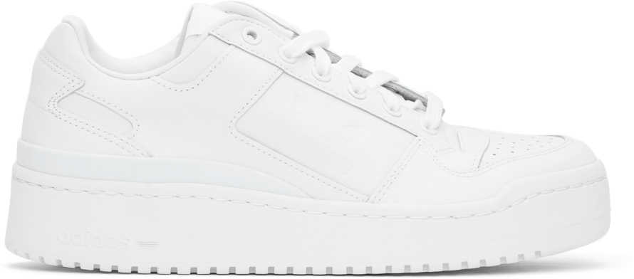 White Forum Bold Sneakers