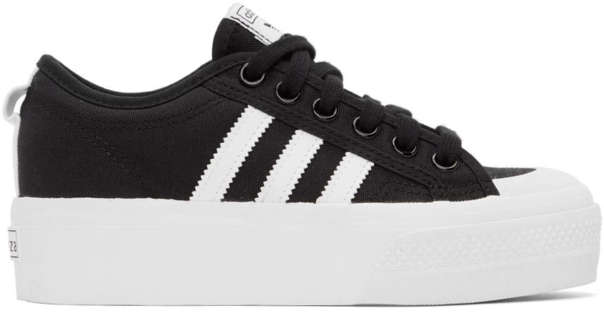Black Nizza Platform Sneakers