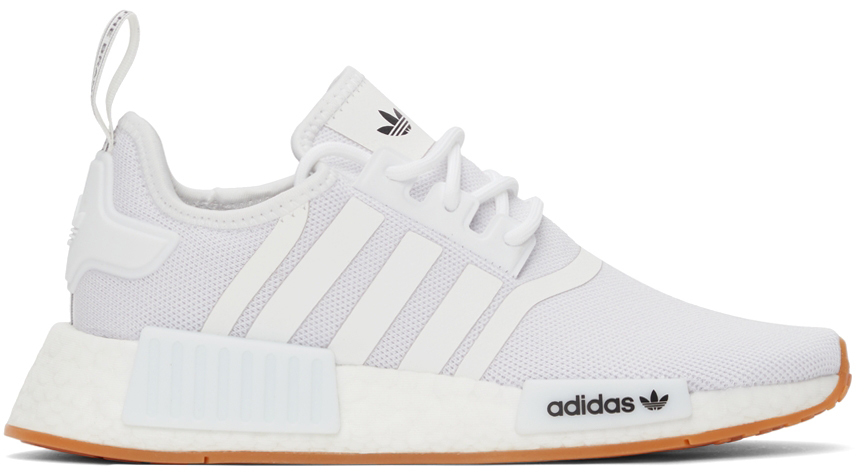 White Primeblue NMD_R1 Sneakers