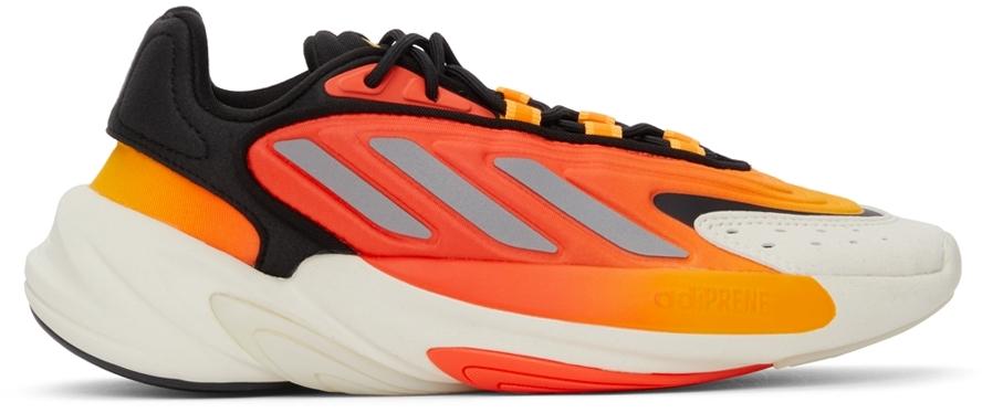 Black & Orange Ozelia Sneakers