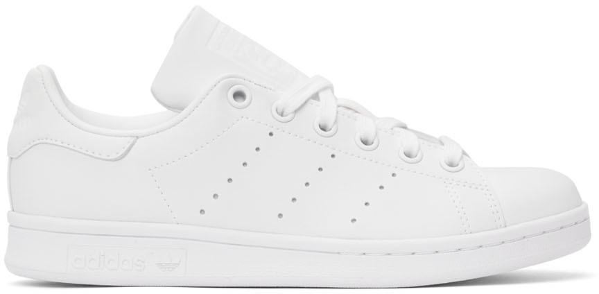 White Primegreen Stan Smith Sneakers
