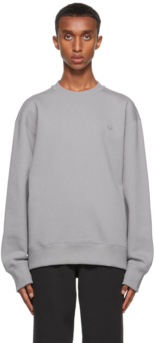 Grey Adicolor Trefoil Sweatshirt
