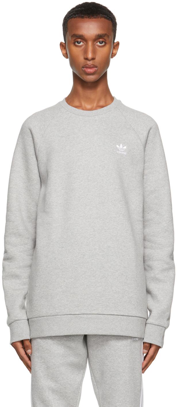 Grey Adicolor Essentials Trefoil Sweatshirt