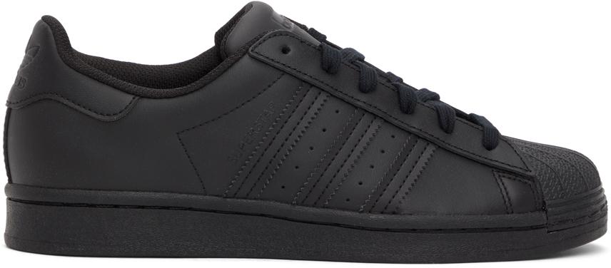 Black Superstar Sneakers