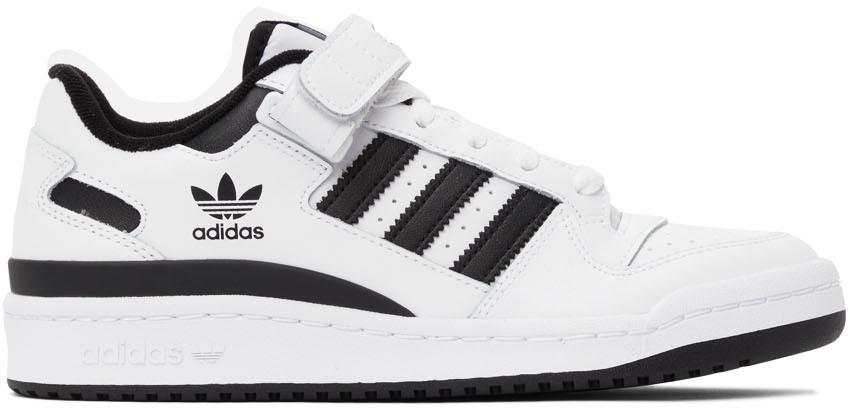 White & Black Forum Low Sneakers