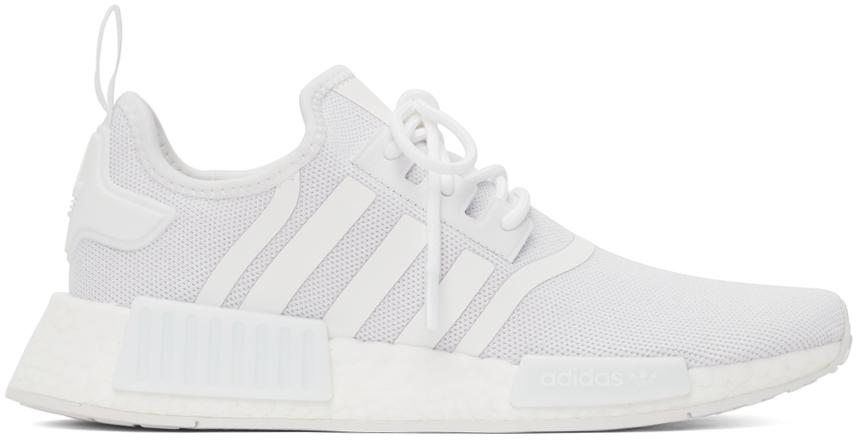 White NDM_R1 Primeblue Sneakers