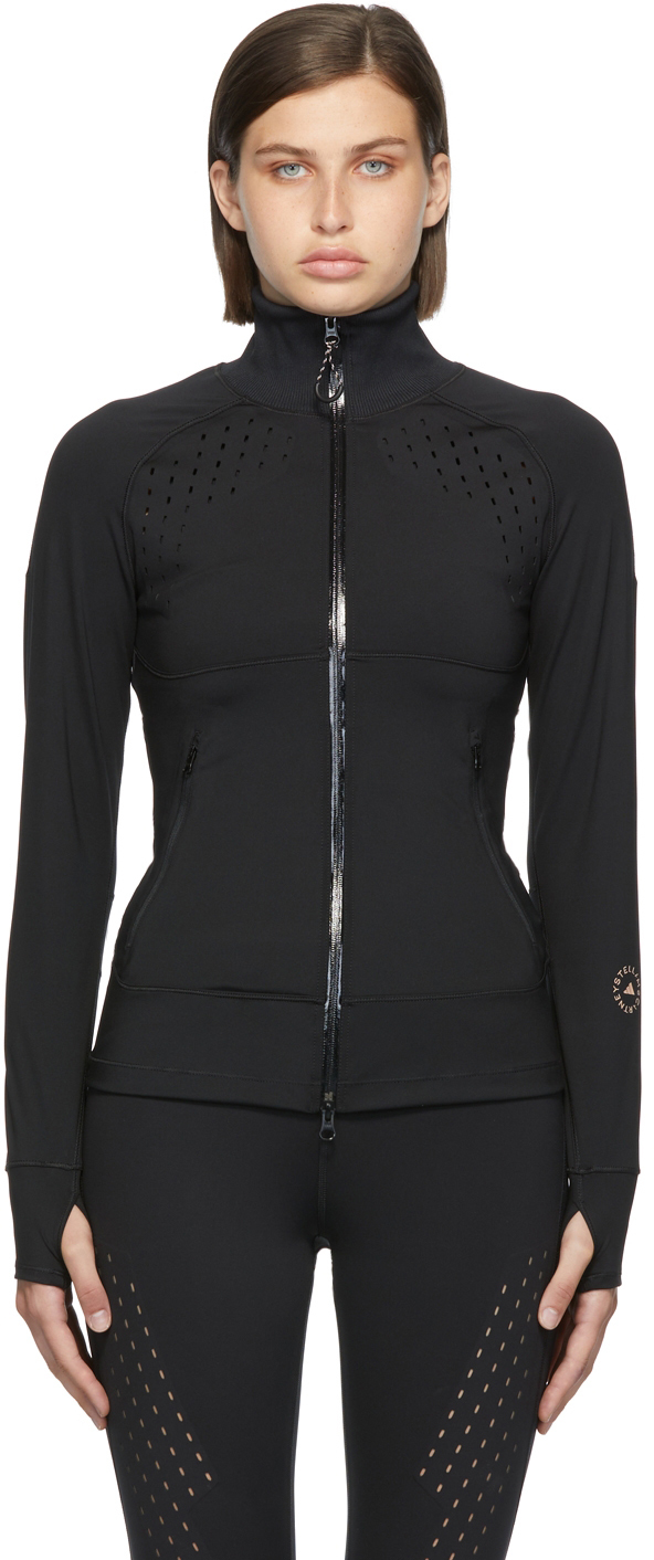 Black TruePurpose Midlayer Jacket