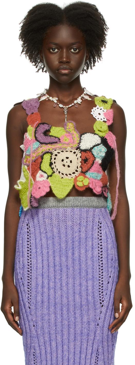 Multicolor Crochet Tank Top