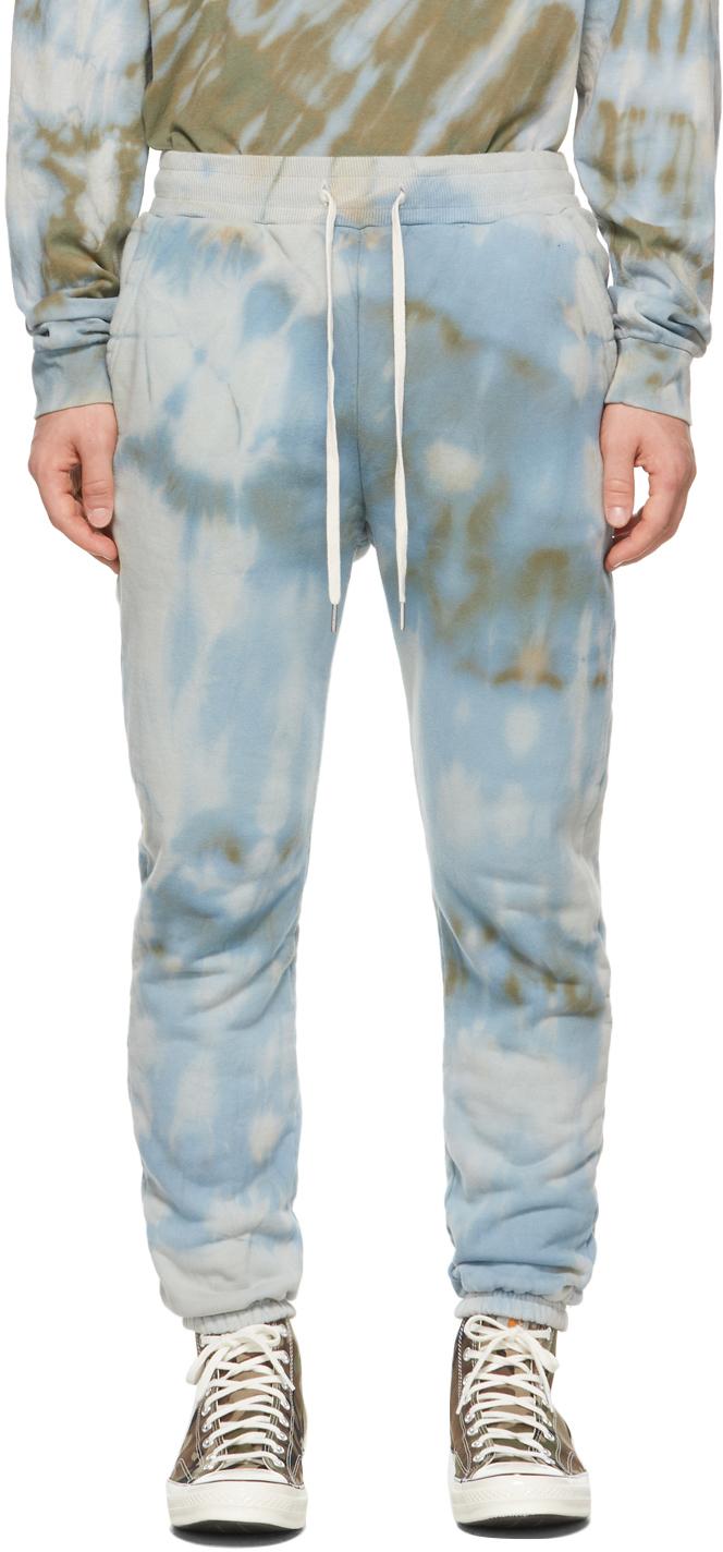 Blue Tie-Dye LA Lounge Pants