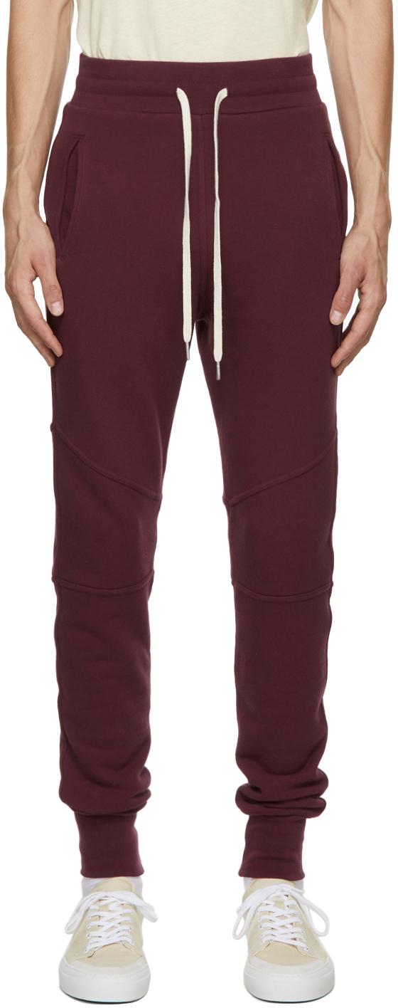 Burgundy Escobar Lounge Pants