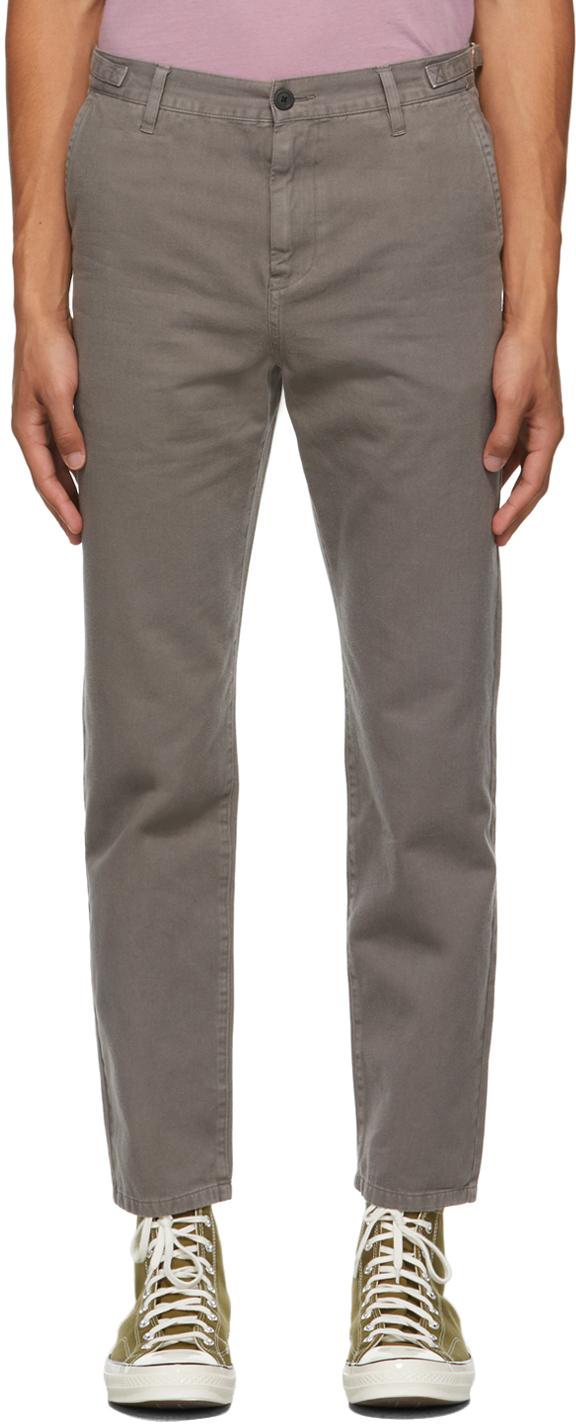 Grey Canyon Work Chino Trousers