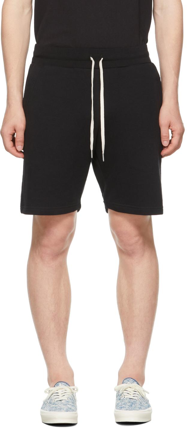 Black Crimson Shorts