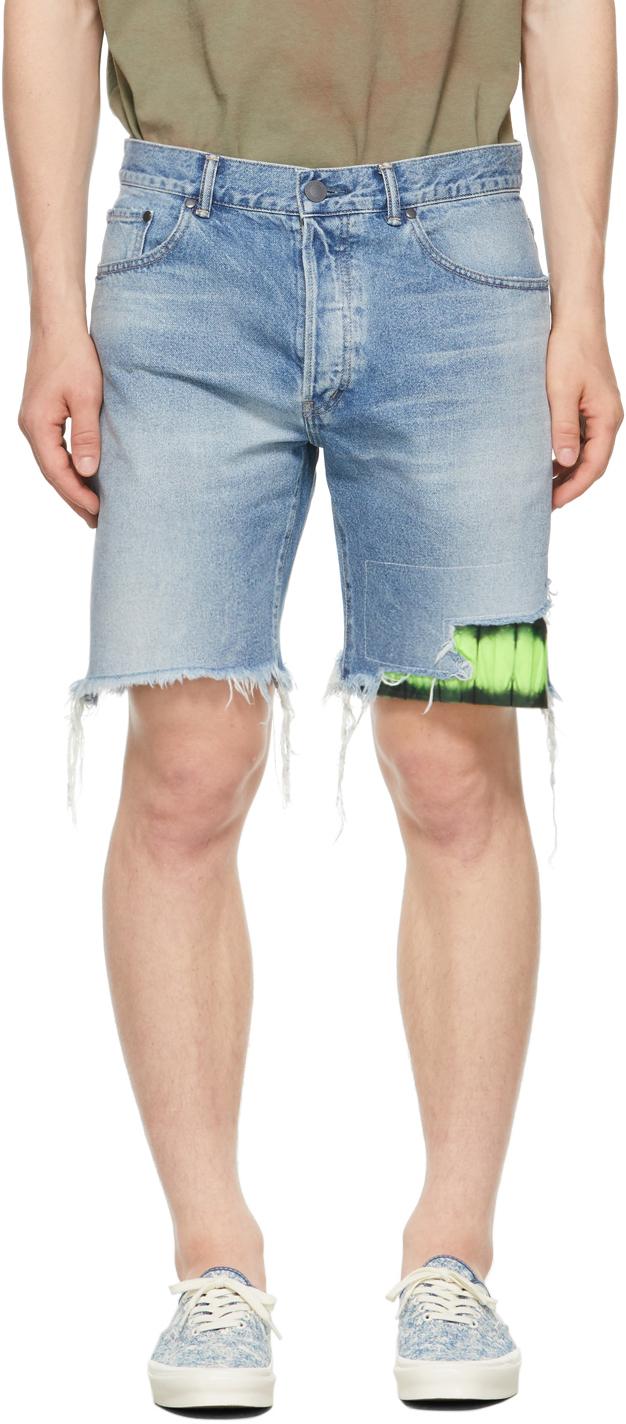 Blue Denim Bozeman Shorts