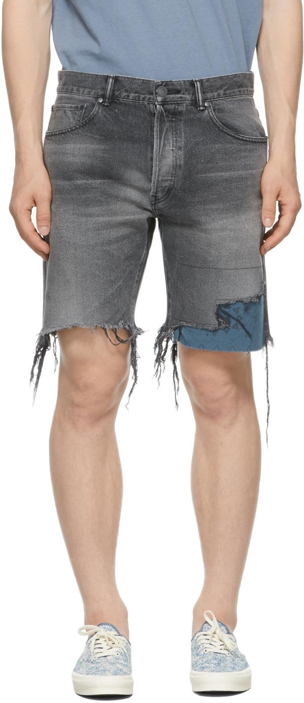 Grey Denim Bozeman Shorts