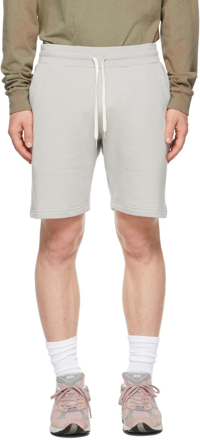 Grey Crimson Shorts