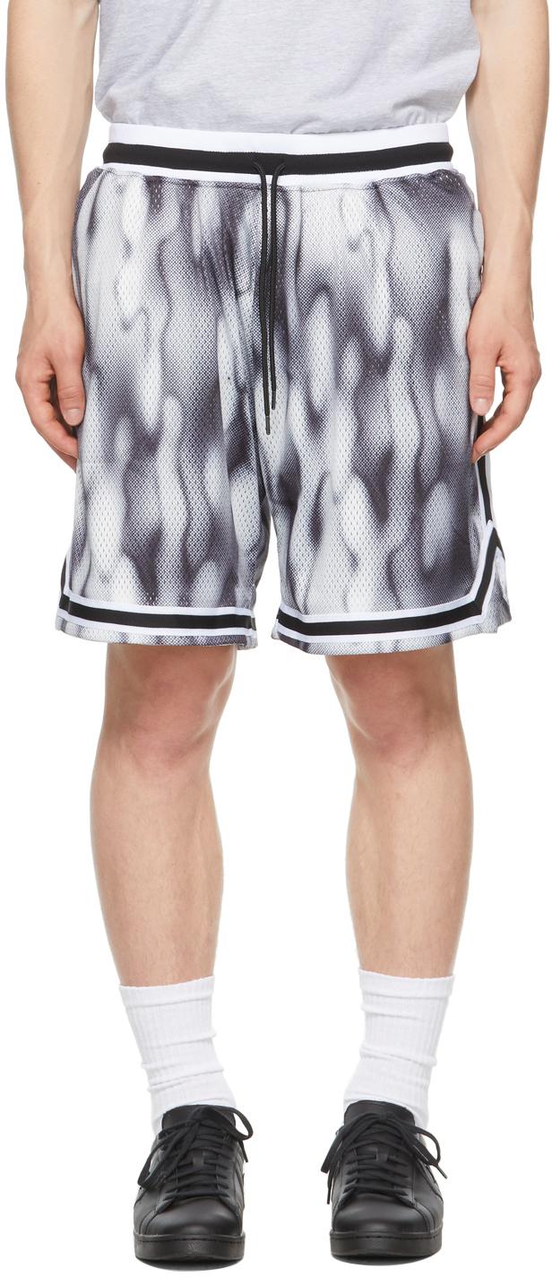 Navy & White Game Shorts